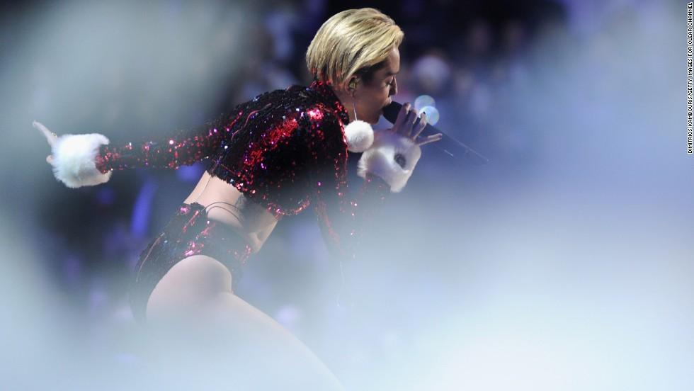 Buen año: Miley Cyrus