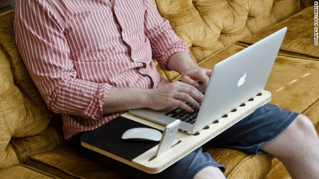 <strong>11. </strong><strong><a href='http://www.kickstarter.com/projects/iskelter/slate-mobile-airdesk' target='_blank'>Slate - Portable Laptop Desk</a></strong>
