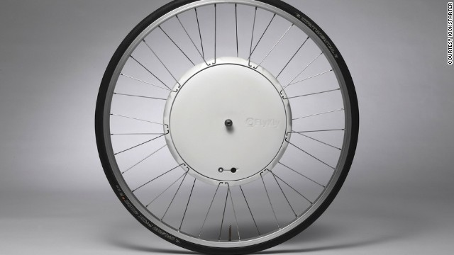 <strong>2. </strong><strong><a href='http://www.kickstarter.com/projects/flykly/flykly-smart-wheel' target='_blank'>FlyKly Smart Wheel - Electronic Bicycle Wheel</a></strong>