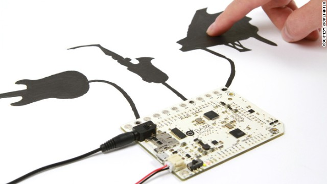 <strong>5. </strong><strong><a href='http://www.kickstarter.com/projects/863853574/touch-board-interactivity-everywhere' target='_blank'>Touch Board - Interactive Sensor Board</a></strong>