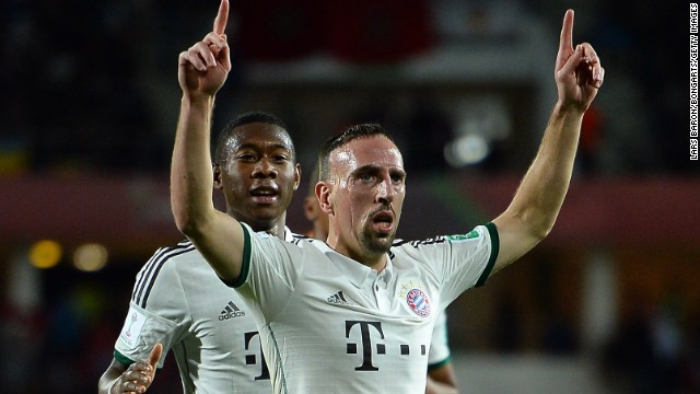 Franck Ribery has been a key player in Bayern Munich's domestic and European success. The France international winger, who was shortlisted for the Ballon d'Or, attracted the attention of major rivals after his first season in Germany.