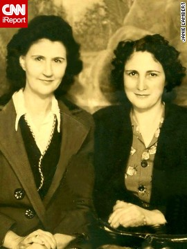 A few years later, Lambert's grandmother and great aunt were wearing longer and looser curls, she said.
