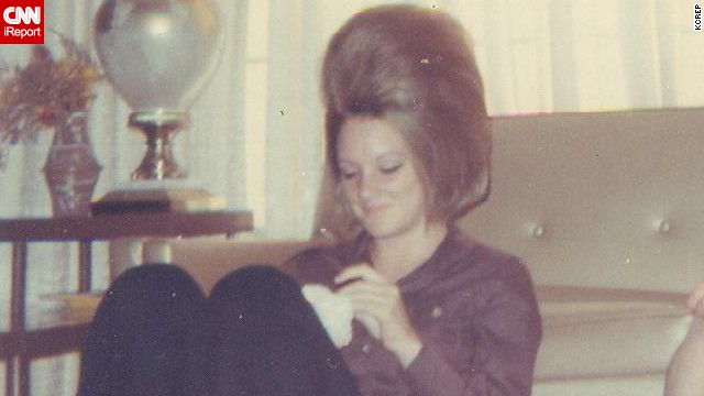 The Lost Art Of Moms Retro Hairdo Cnn