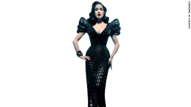 Forget tape measures. Designers can now scan your body and print made-to-measure clothing. In March Shapeways, a 3-D printing company, produced this nylon mesh gown for burlesque star Dita von Teese. As printers begin working with a greater variety of materials, they anticipate the fashionistas to come running.