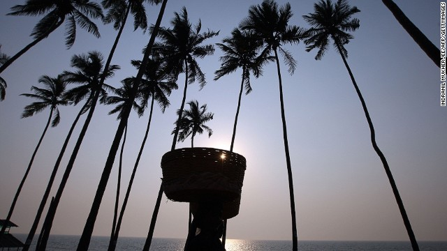 Balmy weather, beaches, outdoor bars and restaurants -- India's smallest state is also one of its biggest party centers. Goan celebrations kick off on December 27 with the three-day Sunburn music festival.