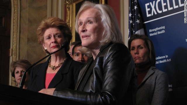 Glenn Close pushes for mental health measure on Capitol Hill