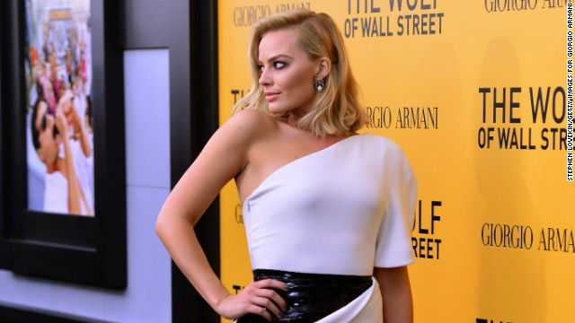 Margot Robbie lied to her family about her 'Wolf of Wall Street' nude scenes