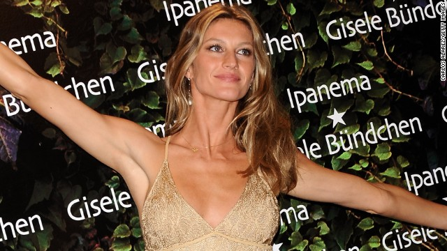 Gisele Bundchen is just one of a number of supermodels which are represented by IMG. Kate Moss is another client.