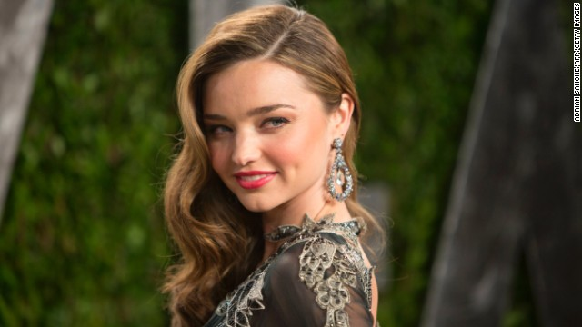 Miranda Kerr, who works with IMG, is one of the most recognizable models in the world. She was the first Australian model ever to appear in a Victoria's Secret runway show .