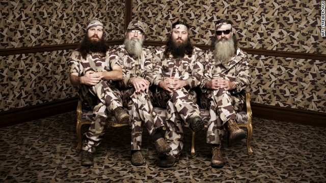 The stars of \'Duck Dynasty\'