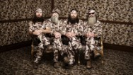 "When Uncle Si Robertson declared on ""Duck Dynasty"" that ""My favorite color is Camo"" it spurred a line of clothing sold to the A&E show's fans, according to a federal lawsuit filed Tuesday. A Florida company claims the cable channel's sales of t-shirt, hoodies and other apparel bearing that quote violate its trademark."