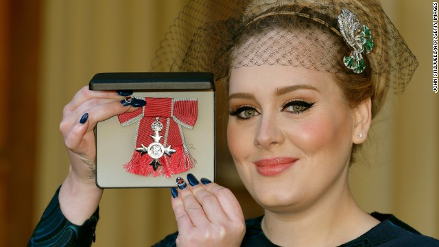 Adele gets the royal treatment