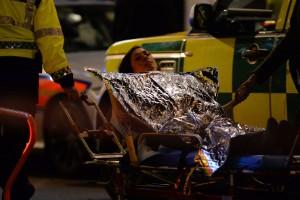 Colapsa un balcón de un teatro en Londres