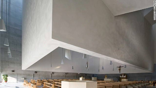 "Situated on the site of multiple earthquakes in Perugia, Italy, the San Paolo Parish Complex was given the go-ahead in 2001 after winning a national competition. In announcing its decision, the jury hailed the project as ""a sign of innovation ... and symbol of rebirth for the city after the earthquake."""