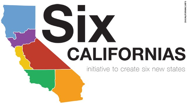 'Six Californias' Ballot Measure Wants To Give Us 55 States