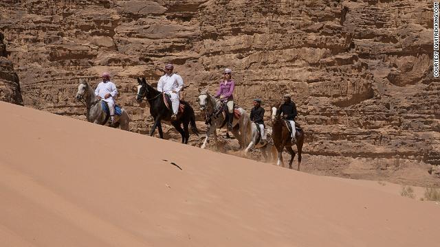 Desert survival, Bedouin style.