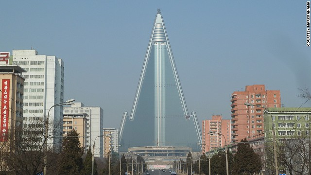Begun in 1987 as a monument to North Korea's eternal leader, Kim Il-sung, what started as an attempt to create the world's tallest hotel has turned into one of the secretive state's greatest embarrassments.