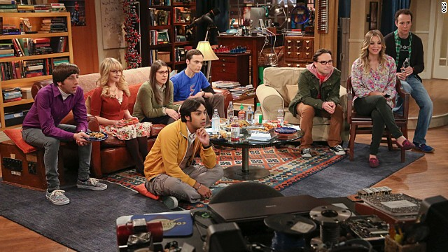 "... ""The Big Bang Theory,"" or so say you all. This CBS sitcom is far and away the favorite sitcom for CNN readers for the second year in a row."