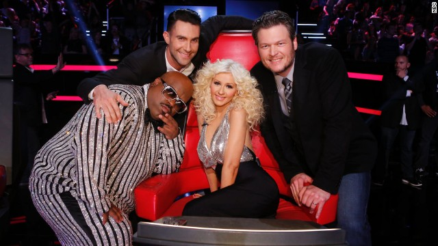 "Like ""Dancing with the Stars,"" NBC's typically popular ""The Voice"" started to struggle in ratings with its fifth season. But, at the end of the year, CNN's readers had no reason not to call it their favorite reality champ."
