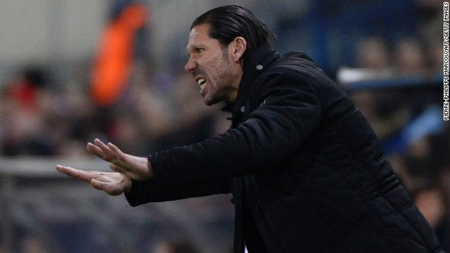 Former Argentina midfielder Diego Simeone has done a fine job at the helm of Atletico Madrid.