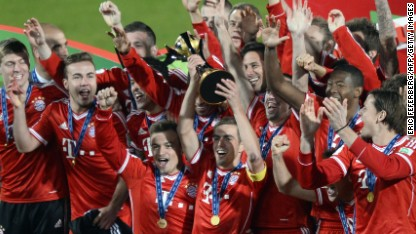 Football: More silverware for Bayern