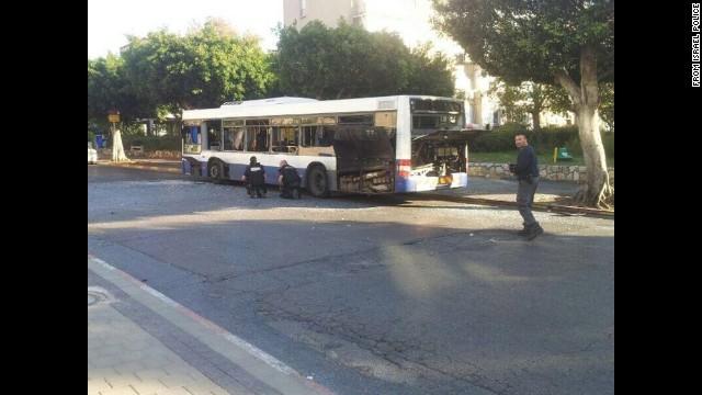 Los pasajeros del bus-bomba en Israel fueron evacuados justo a tiempo