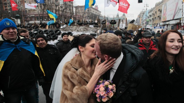 Photos: Ukraine protests