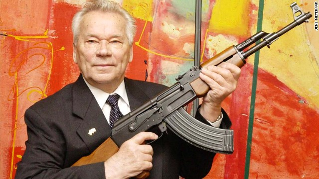 Photos: The long arm of Kalashnikov\'s AK-47