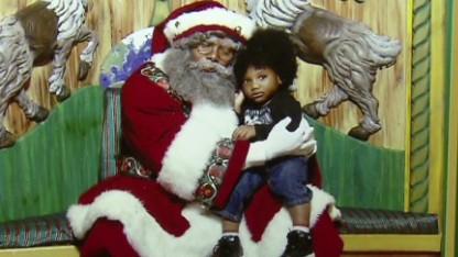Macy's 'special' black Santa
