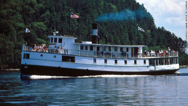 "Ship lovers will enjoy a three- or four-hour cruise on the <a href='http://www.katahdincruises.com' target='_blank'>Katahdin Steamship</a>, a 110-foot boat built by Bath Iron Works in 1914, which marks its 100th anniversary in August with cruises, a birthday party and new museum exhibits. Since being restored in 1995, ""Kate"" operates seasonally on Maine's Moosehead Lake, the state's largest lake."