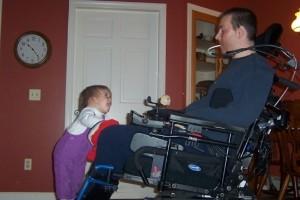 Un papá más allá de una discapacidad