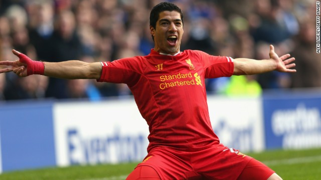 English club Liverpool, led by Uruguayan striker Luis Suarez, dropped out of the top ten for the first time since 1999/2000 despite seeing a 9% rise in revenue to $325.9 million. The club haven't qualified for the lucrative European Champions League since 2009.