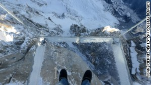 Toe-tingling 'void' at top of Alps