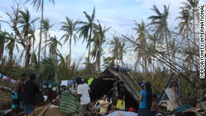 Jovanna Pardilla\'s community of Palo on the island of Leyte is trying to rebuild with very few resources.