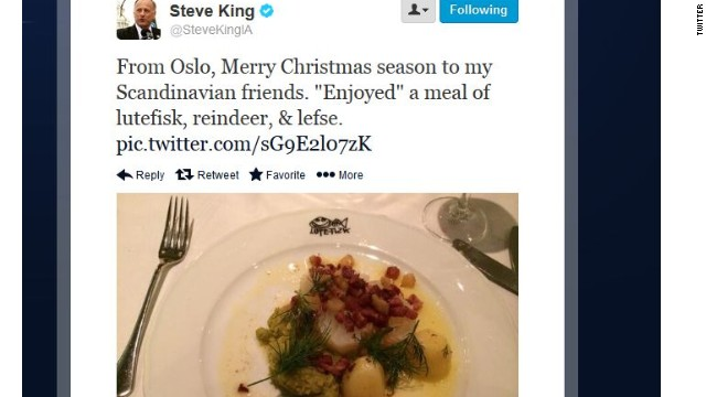 Food guru on Rep. King tweet: Feasting on reindeer 'totally normal' in Norway