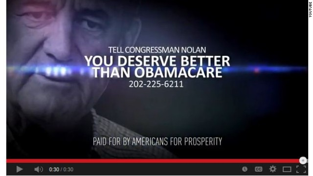 Conservative group slams Obamacare with new ads