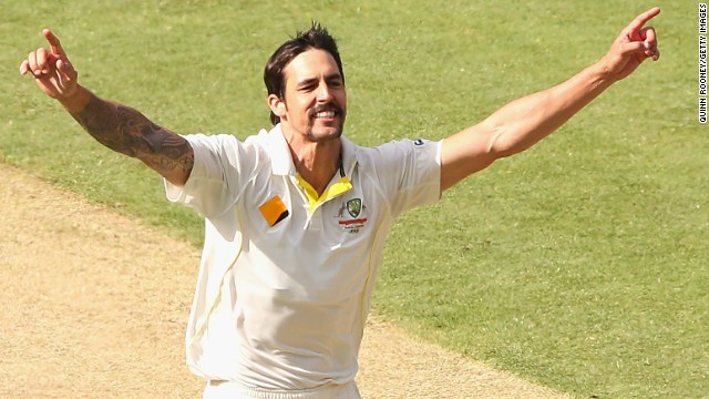 It was another good day for Mitchell Johnson and Australia. Johnson, arguably the man of the series so far, took two late wickets as England finished at 226-6 to start the fourth Test.