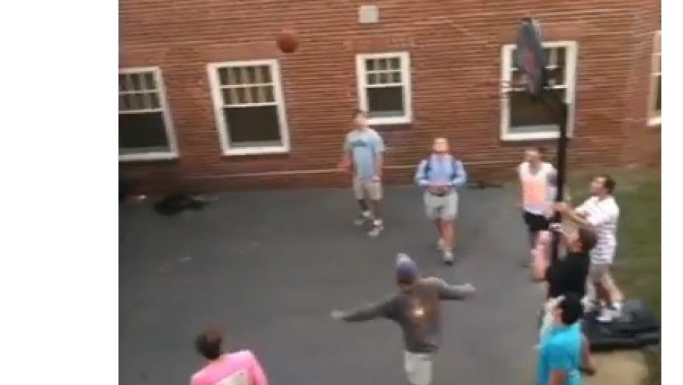 Tiro mágico de baloncesto