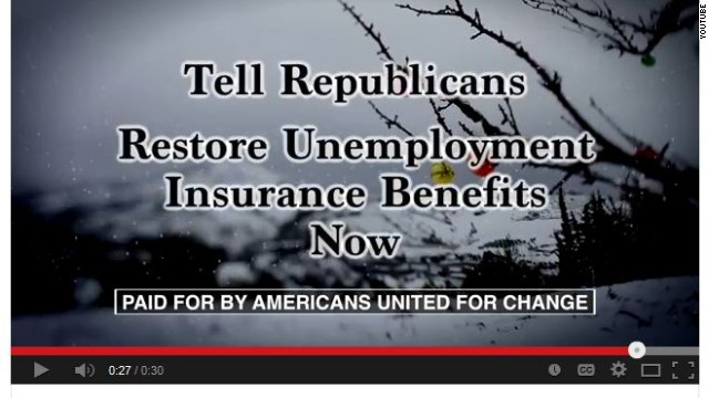 Anti-GOP ads: Not so 'Merry Christmas' for unemployed