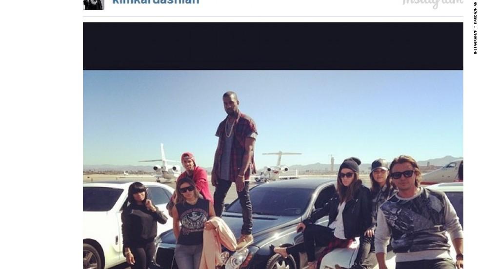 Cumpleaños de Kim Kardashian en Las Vegas