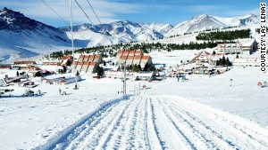 A popular heli-skiing destination, Las Lenas also has one of the world\'s longest ski runs.