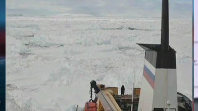 Buque rompehielos chino queda detenido en camino al barco ruso atascado en la Antártida