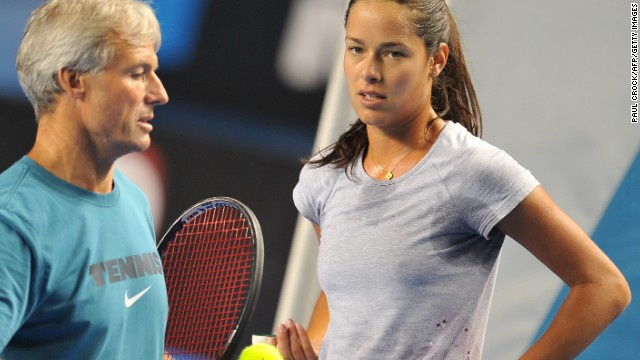 The 26-year-old has hired and fired a number of different coaches over the years, including former head of English women's tennis Nigel Sears, who she split with in July 2013 after crashing out in the second round at Wimbledon.