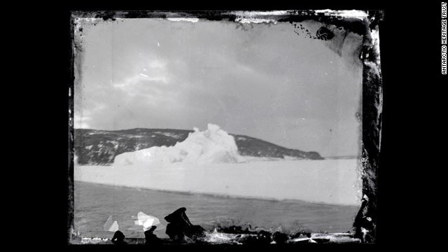 Antarctic expedition photos found