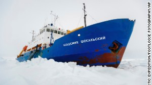 The Akademik Shokalskiy has been stranded since December 24, 2013.