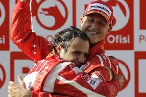 Michael Schumacher, campeón de la F1