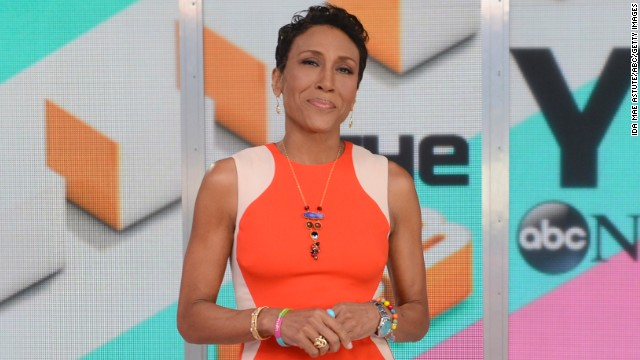 "In December, ""Good Morning America"" anchor Robin Roberts came out as a lesbian in a Facebook post reflecting on the past year and thanking fans for their support after her bone marrow transplant. It was also the first public acknowledgment of her partner Amber Laign. ""I am grateful for my entire family, my longtime girlfriend Amber, and friends as we prepare to celebrate a glorious new year together,"" Roberts wrote."
