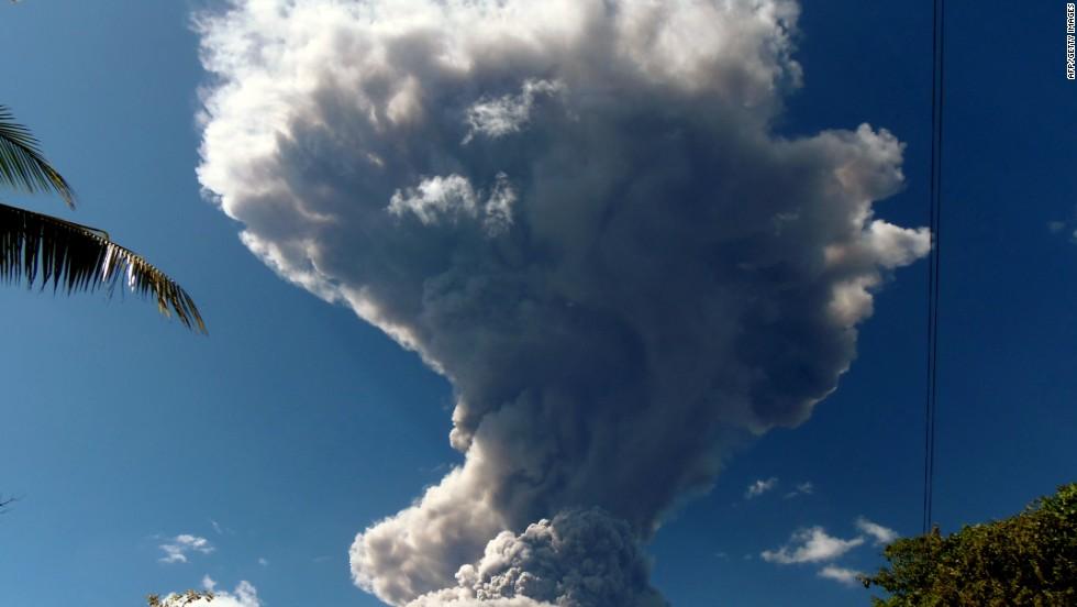 Actividad en el volcán Chaparrastique