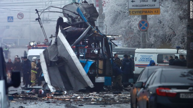 Deadly blasts in Russian city