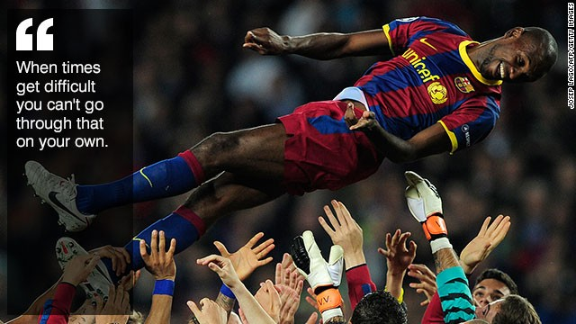 Eric Abidal: Warrior and philosopher